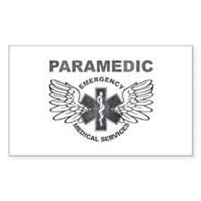 Paramedic EMS SOL wings Decal
