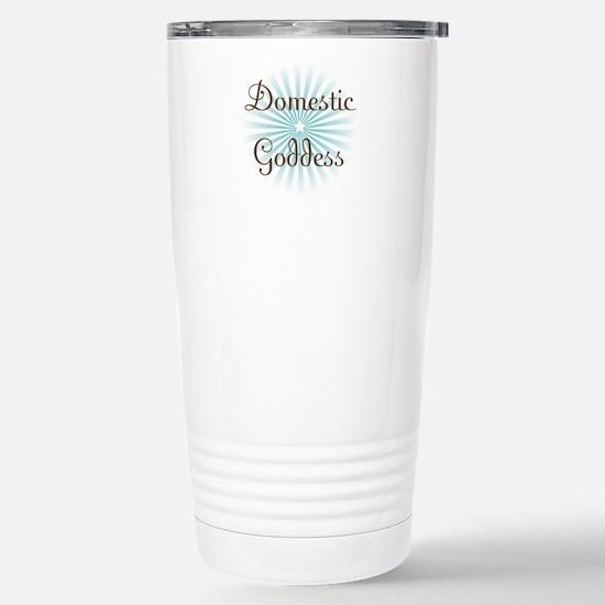 Domestic Goddess Stainless Steel Travel Mug