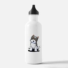 Biewer Yorkie Puppy Water Bottle
