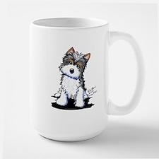 Biewer Yorkie Puppy Mug