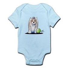 Biewer Yorkie Princess Infant Bodysuit