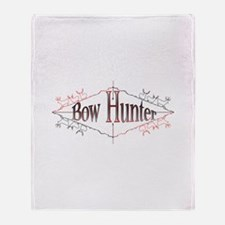 Bow Hunter Throw Blanket
