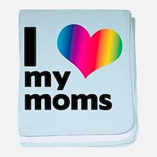 I love my moms baby blanket