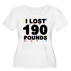 I Lost 190 Pounds! T-Shirt