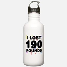 I Lost 190 Pounds! Water Bottle