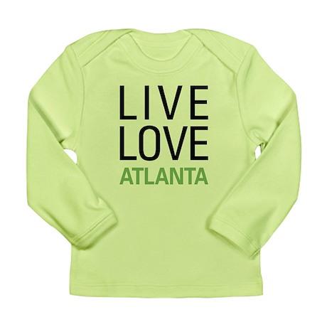 Live Love Atlanta Long Sleeve Infant T-Shirt