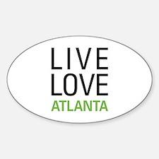 Live Love Atlanta Decal
