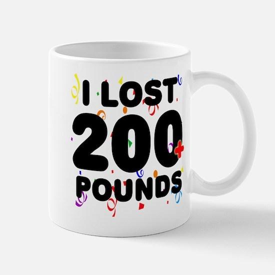 I Lost 200+ Pounds! Mug
