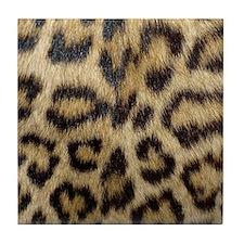Leopard Print Tile Coaster