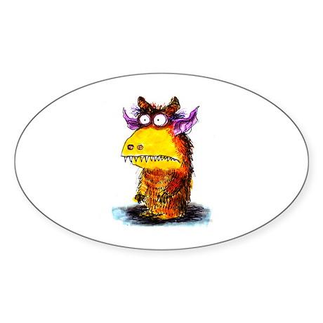 Monster Sticker (Oval 50 pk)