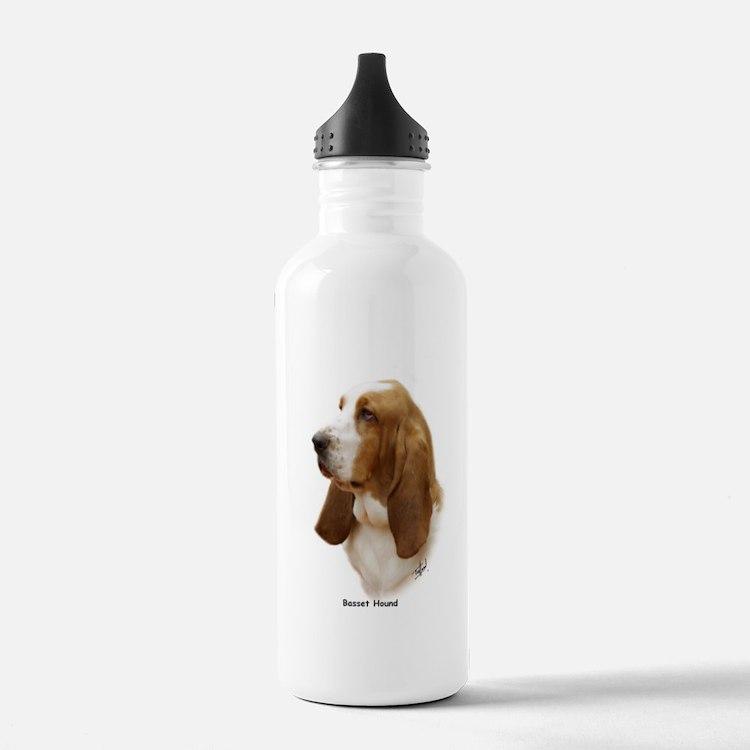 Basset Hound 9J055D-15 Water Bottle
