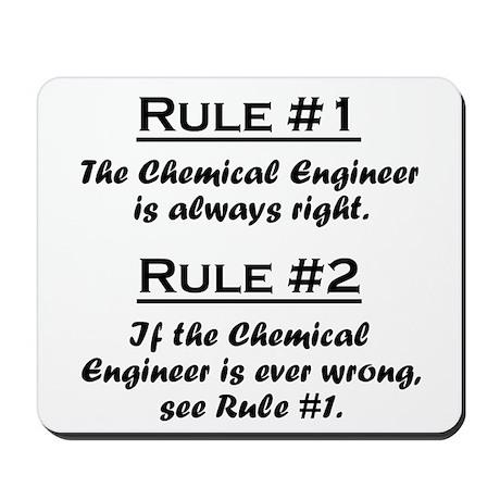 Chemical Engineer Mousepad