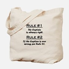 Captain Tote Bag