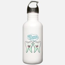 Obey Your Dental Hygienist Water Bottle