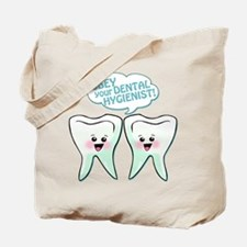 Obey Your Dental Hygienist Tote Bag