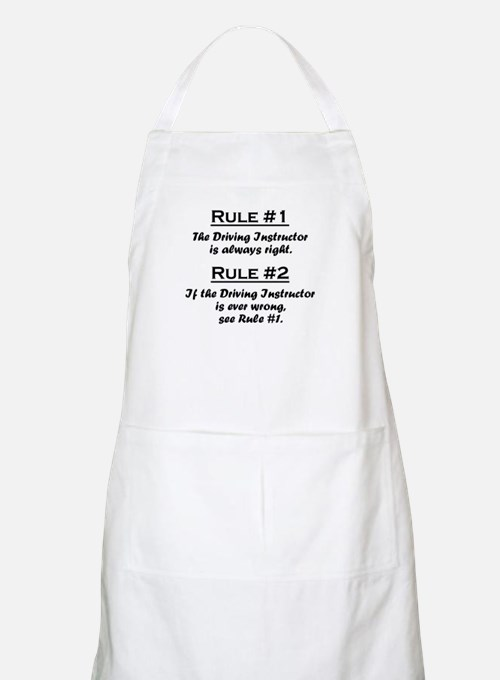 Driving Instructor Apron