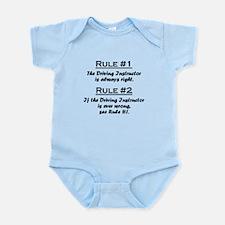 Driving Instructor Infant Bodysuit
