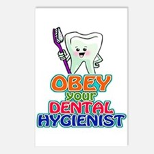 Obey Your Dental Hygienist Postcards (Package of 8