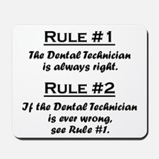 Dental Technician Mousepad