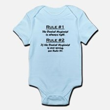 Dental Hygienist Infant Bodysuit