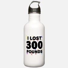 I Lost 300 Pounds! Water Bottle
