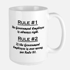 Government Employee Mug