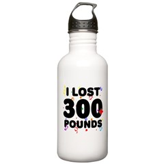 I Lost 300+ Pounds! Water Bottle