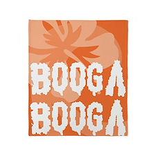 Booga Booga Throw Blanket