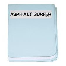 Asphalt Surfer baby blanket