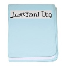 Junkyard Dog baby blanket
