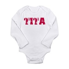 Tita Long Sleeve Infant Bodysuit