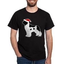 Landseer Santa T-Shirt