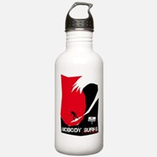 Nobody Surfs Like a Wahine Water Bottle