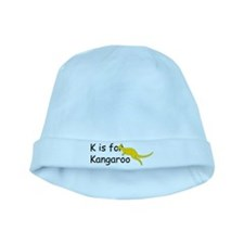 K is for Kangaroo baby hat