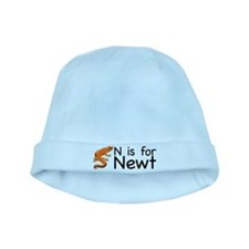 N is for Newt baby hat