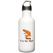 N is for Newt Water Bottle