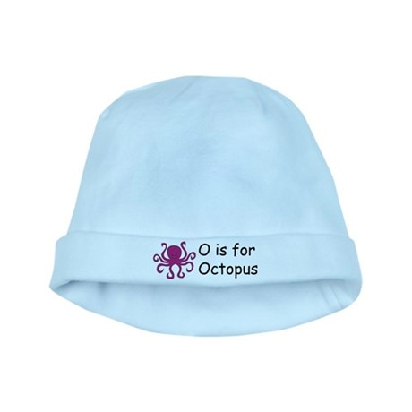 O is for Octopus baby hat