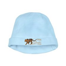 Tiger Facts baby hat