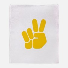 Peace It Out! Throw Blanket