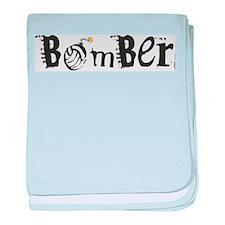 Bomber baby blanket