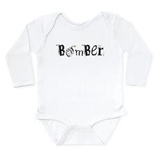 Bomber Long Sleeve Infant Bodysuit