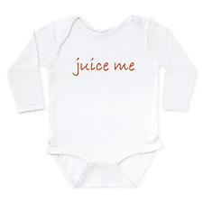 Juice Me Long Sleeve Infant Bodysuit
