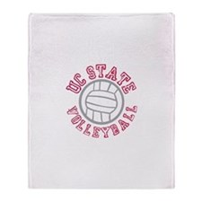 UC State Volleyball Throw Blanket