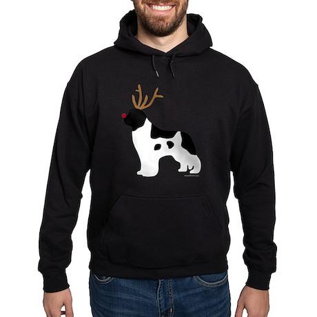 Landseer Reindeer Hoodie (dark)
