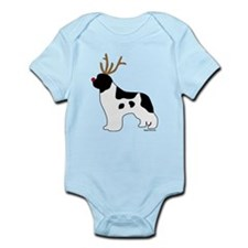 Landseer Reindeer Infant Bodysuit
