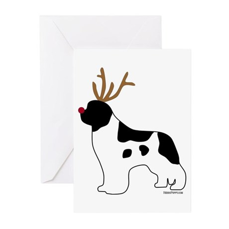 Landseer Reindeer Greeting Cards (Pk of 20)