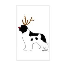 Landseer Reindeer Decal