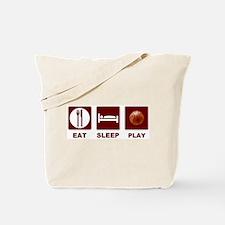 Eat Sleep Play Basketball Tote Bag