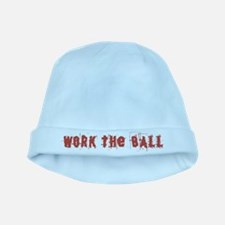 Work the Ball baby hat