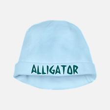 Alligator baby hat